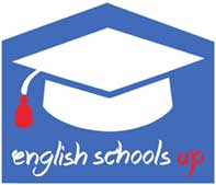English school up logo